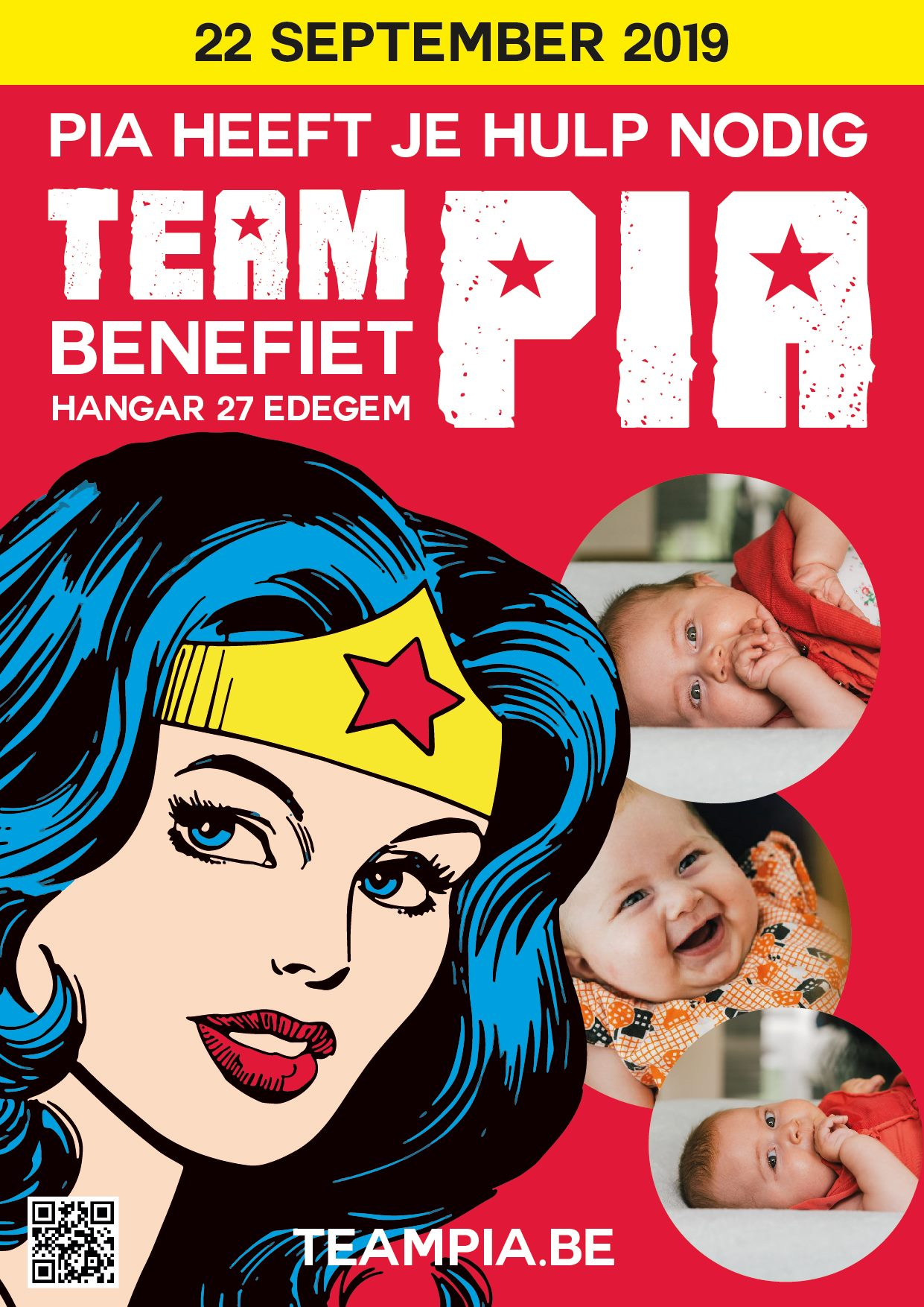 TeamPia Benefiet